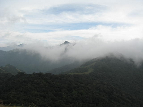 View from chembra peak